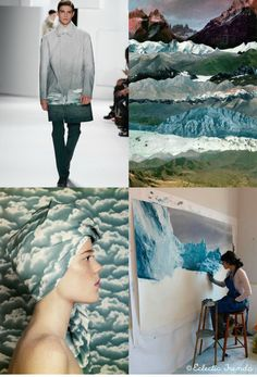 Women's, Mens, Interiors, F/W 2016-17 Lifestyle Direction - Wonderland is an evolution of wanting to embrace nature in all its senses which started (and is still trending) with a variety of floral and botanical printing. If we can not go and access easily the waste nature then we try at last to take its image home.