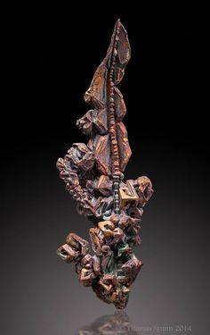 Copper - Dzhezkazgan, Karagandy Province, Kazakhstan Size: 7.9 cm
