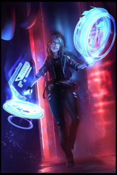 Image result for cyberpunk art