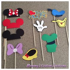 Mickey Mouse Club House Banner by MommysCustomCreation on Etsy Theme Mickey, Mickey Party, Disney Theme, Mickey Mouse Birthday, Mickey Minnie Mouse, Baby Mickey, 30th Birthday, Homecoming Decorations, Disney Party Decorations