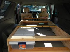 Built my sleeping platform! - Page 3 - Expedition Portal Best Camping Gear, Camping List, Camping Guide, Family Camping, Camping Hacks, Camping Ideas, Minivan Camping, Truck Camping, Tent Camping