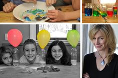 Kitchen Pantry Scientist Liz Heinecke shares her favorite at-home science projects for kids.