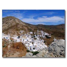 Serifos town – Serifos Post Card