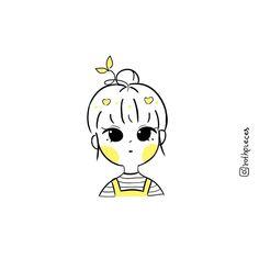 Cute Cartoon Characters, Cartoon Art Styles, Cute Art Styles, Kawaii Drawings, Cartoon Drawings, Easy Drawings, Cute Canvas Paintings, Art Painting Gallery, Simple Cartoon