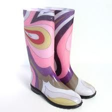 Pucci rain boots