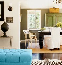 have always loved those striped chairs ever since I first saw this in Cottage Living.