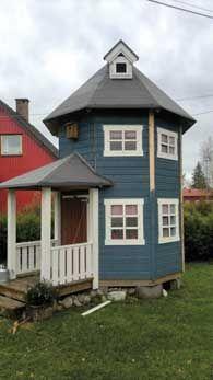 Bilderesultat for utekjøkken leca Outdoor Play Areas, Outdoor Structures, Silo House, Playhouse Plans, Unusual Homes, She Sheds, Best Mattress, Fabric Decor, Farm Life