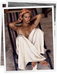 A seaside retreat stimulates the art of letting go. Stripped to the essentials, Carolyn Murphy mirrors her surroundings with unbridled sensuality and naturalistic poise.
