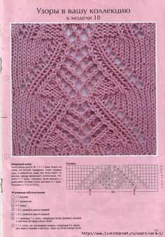 Knitting Stitches And Patterns Diana Biggs : 1000+ images about Eyelet & Lace Knitting Stitches on Pinterest Knittin...