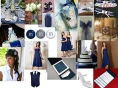 navy blue wedding colour themes - Google Search