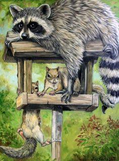 Хорошее настроение с художницей Joy Campbell. . Обсуждение на LiveInternet…