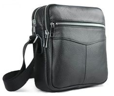 Leather Men Bags Hot Sale Male Small Messenger Bag Man Fashion Crossbody  Shoulder Bag Men s Travel New Bags 86a6383423ac7