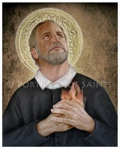 St. Philip Neri Art Print, Catholic Patron Saint