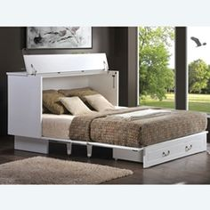 hideaway bed - to go in the dance studio, so the space would function as practice studio or guest room