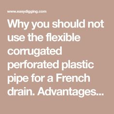 Best 25 Drainage Pipe Ideas On Pinterest Water Drainage