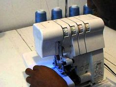 How To Change Threads a Singer Serger