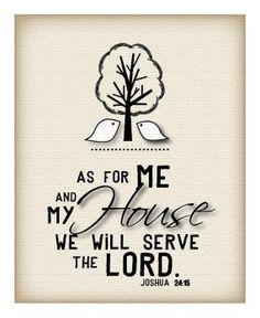 As For Me And My House We Will Serve The LORD.  Amen † ... and we'll all hear His Word together on June 23, 2013. Join us for Sit Together Sunday at any of our worship services (8:30 a.m., 9:30 a.m., 11 a.m., 7 p.m.)