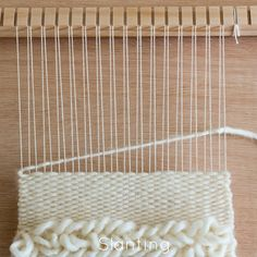 Loom & Spindle - Weaving Techniques - Slanting