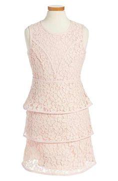Bardot Junior 'Sienna' Sleeveless Lace Dress (Big Girls)