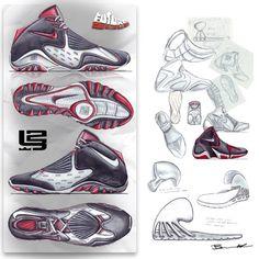 Footwear Sketches by Ben Adams-Keane at Coroflot.com