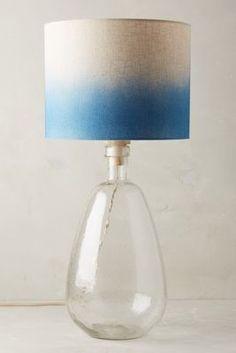 Glass Carafe Table Lamp Ensemble