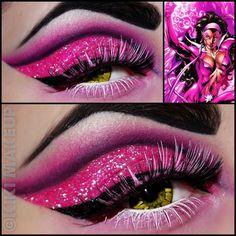 ☥Kiki Makeup☥ - Star Sapphire. Using Masquerade Cosmetics pressed shadows and glitters.