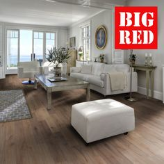 Kahrs Spirit Rugged Collection Fossil: Best prices in the UK from The Big Red Carpet Company Kahrs Flooring, Hard Floor, Fossil, Hardwood, Dining Table, Rugs, Red Carpet, Spirit