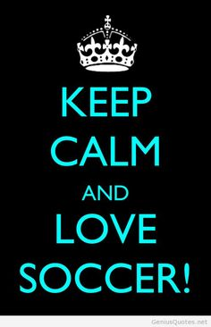 Keep calm and love fifa world cup 2014 soccer