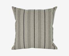 Kellu Stripes Pillow - Grey