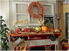 White Window Frame in Collection of Fireplace for Thanksgiving Decoration Ideas