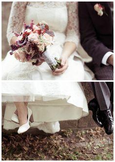 NEUJAHRSGRUSS: Philine´s & Daniel´s zauberhafte Vintage-Hochzeit