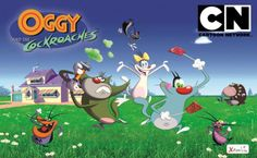 Oggy And The Cockroaches Full Episode English Cartoon for Kids ! Kids Cartoon Characters, Cartoon Movies, Cartoon Kids, Cartoon Images, Funny Cartoons For Kids, Popular Cartoons, Cartoons Love, Best Cartoon Shows, Cartoon Network Shows