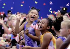 Aim High Academy gymnasts react to announcement of a new home for them!