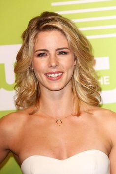 Emily Bett Rickards at #CWUpfront 2015 #Arrow