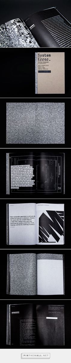 System Error—Editorial Design by Eric Lynch