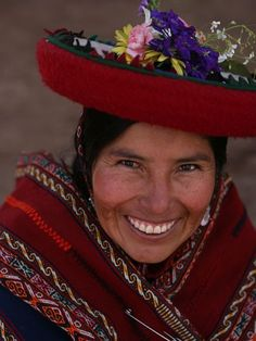 Face of Peru~ and an exquisite one at that!