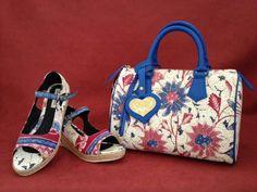 Wedges and bag batik indonesia