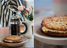 Havregrynskager - oatmeal cakes recipe