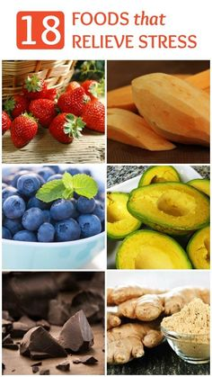 It's no surprise that when you eat well, you feel well. While eating a healthy and well-balanced diet is essential. Your diet can also be modified to help target physical and emotional states. Here are 18 foods that relieve stress. Get Healthy, Healthy Tips, Healthy Habits, Healthy Choices, Healthy Snacks, Healthy Eating, Healthy Recipes, Health And Nutrition, Health And Wellness
