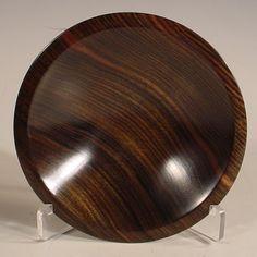 Mun Ebony Wood Ring Dish Turned Wooden Bowl Number 5961 by NELSONWOOD on Etsy