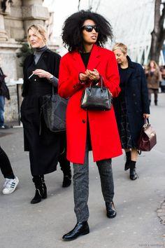Red coat – Julia Sarr Jamois | A Love is Blind | Bloglovin'