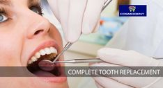 Missing all of your teeth! Not to worry. Avail complete tooth dental implant with full bridge or full denture will replace all the lost natural tooth and some of the root.  In case of any #dental_problems, Consult Cosmodent #India #online call us at 9999354118 (#Delhi), 8867208923 (#Bangalore), 8588097530 (#Gurugram) or write your health problems at info@cosmodentindia.com #dental_clinic #dentist #dentistry_services