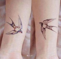 Color Temporary tattoo Swallow Tattoo Bird tattoo Peace Animal tattoo Fake Tattoo Quote Realistic tattoo Sticker boho tattoo bohemian Tattoo - ⟠ Long lasting, waterproof and realistic temporary tattoo sticker ⟠ Original hand-drawn tattoo d - Bohemian Tattoo, Boho Tattoos, Fake Tattoos, Feather Tattoos, Trendy Tattoos, New Tattoos, Girl Tattoos, Small Tattoos, Tattoos For Women