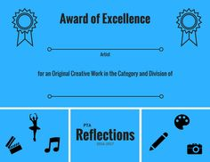 16 17 reflections participation web bannerg 900368 book pta reflections award certificate set awards of excellence merit participation ready to print art contest certificates yadclub Images