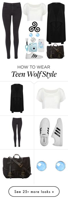 """""""Teen Wolf Inspired"""" by lucy-wolf on Polyvore featuring Maison Scotch, M&Co, Fujifilm, adidas, Filson and Latelita"""