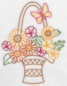 Hungarian Embroidery, Learn Embroidery, Vintage Embroidery, Ribbon Embroidery, Embroidery Art, Embroidery Stitches, Eyebrow Embroidery, Hand Embroidery Tutorial, Embroidery Transfers