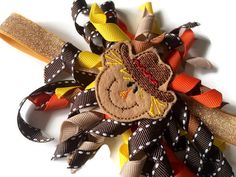 Pumpkins and Scarecrows by Lisa Kraft on Etsy