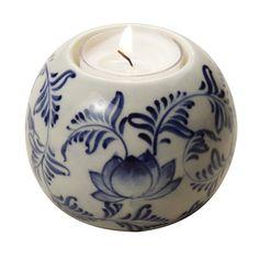 Flowering Tea Light Holder, $12.00 #handmade #fairtrade #tenthousandvillages