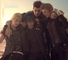 "emy-san: "" Happy Anniversary Final Fantasy XV! PATREON """