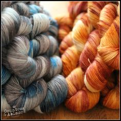 Merino, mohair, nylon sock yarn